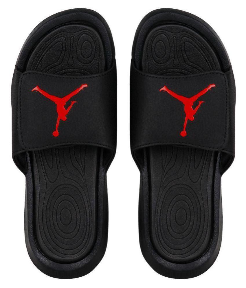 Nike JORDAN HYDRO 6 Black Slide Flip