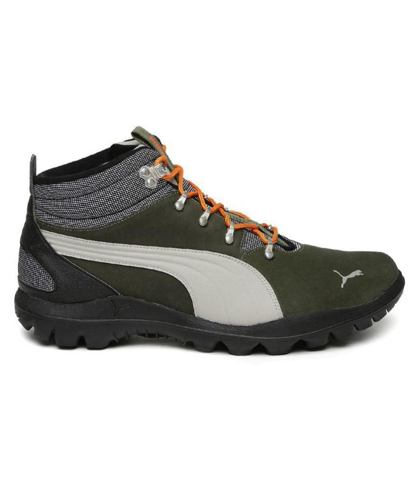 58d532ff832 Puma Tatau Fur Boot 2 IDP Mid-Top Outdoor Olive Casual Shoes - Buy ...