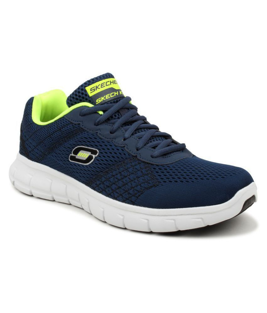 e54c0f90e52a Skechers 999726 VIM Navy Running Shoes - Buy Skechers 999726 VIM Navy  Running Shoes Online at Best Prices in India on Snapdeal