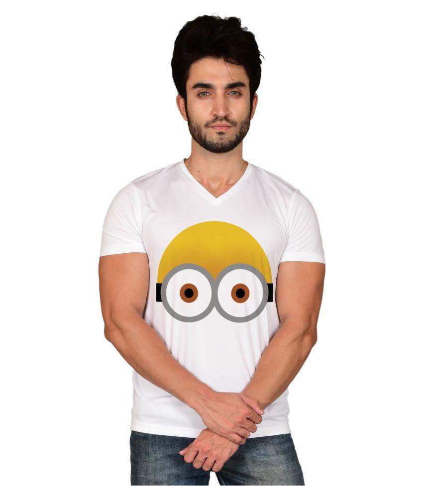 Baluchi White Half Sleeve T-Shirt Pack of 1