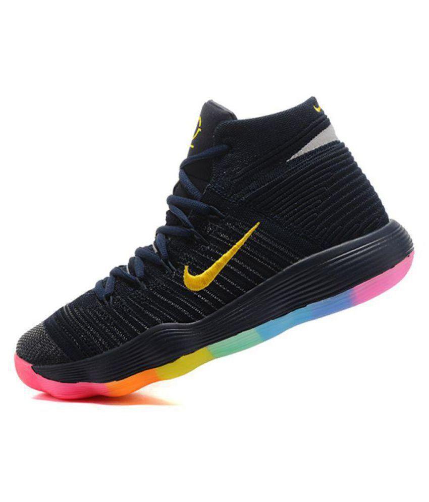 Nike HYPERDUNK 2017 FLYKNIT Black Basketball Shoes - Buy ...