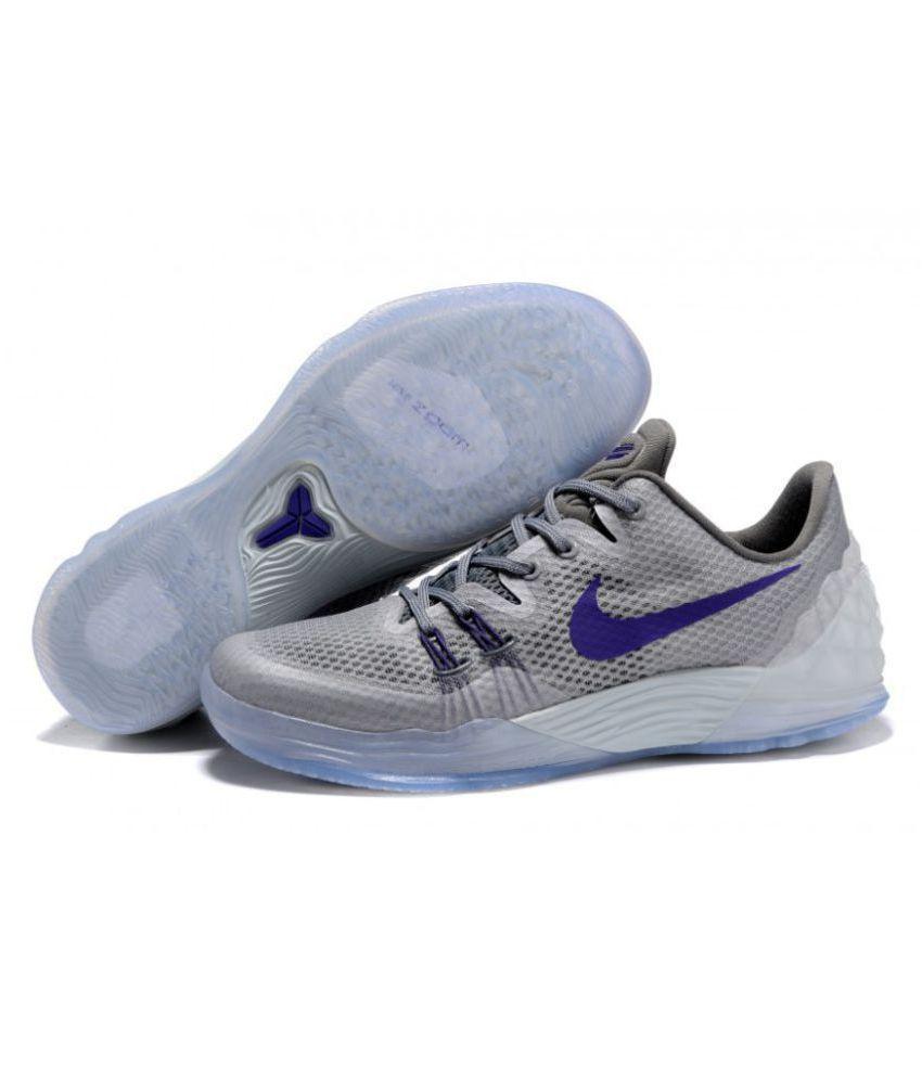 cd33bc95f447 Nike Zoom Kobe Venomenon 5 EP Limit Gray Basketball Shoes - Buy Nike ...