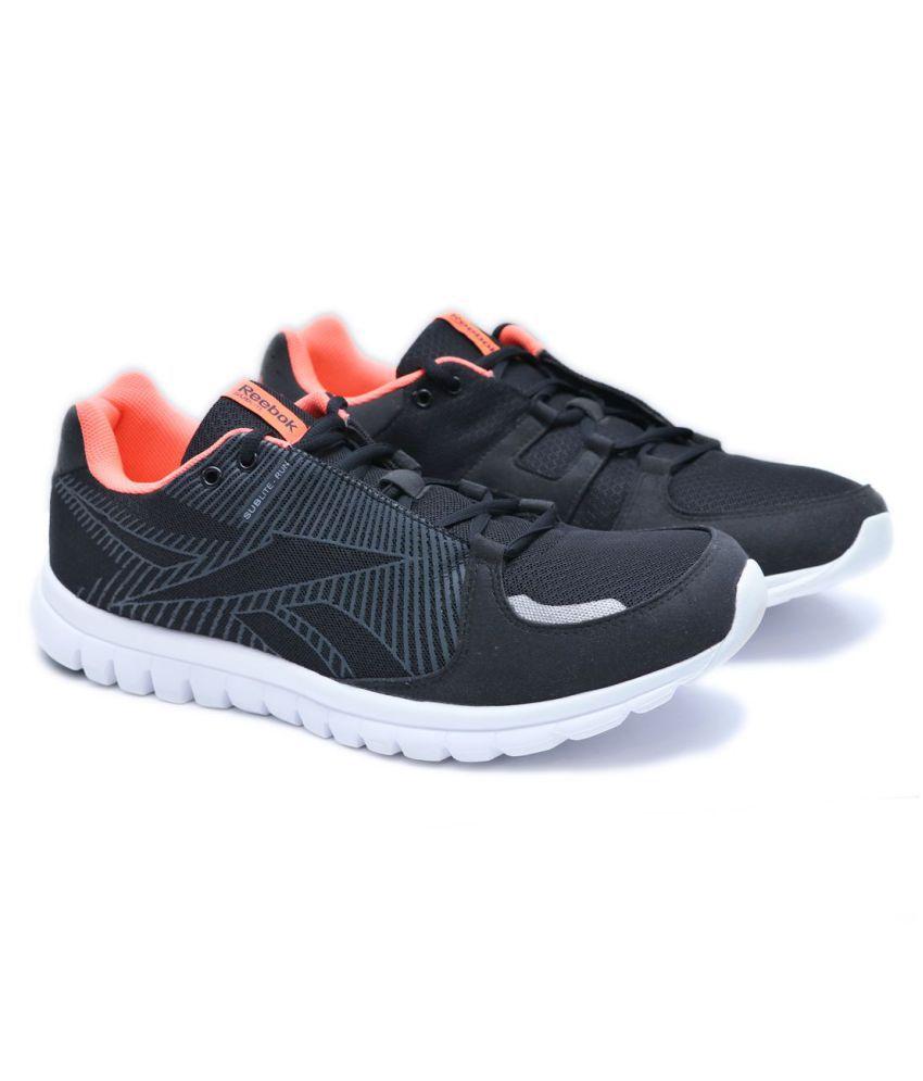 d96454727d7 Reebok Sublite Run J90472 Black Running Shoes - Buy Reebok Sublite ...