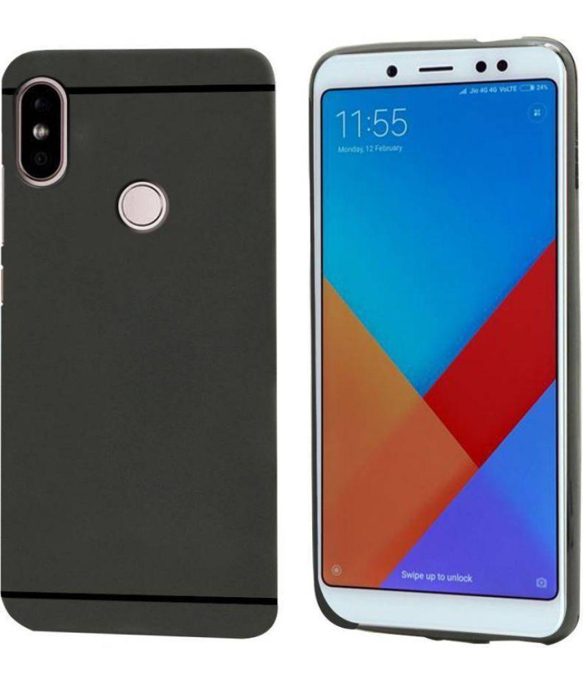 Xiaomi Redmi Note 5 Pro Plain Cases MAXX3D - Black SHOCK PROOF