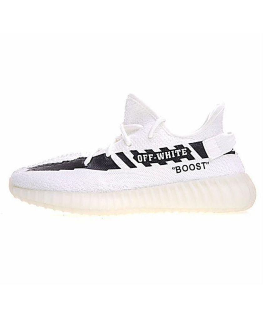 4937a0eb15eb8f Adidas yeezy boost sply 350 White Running Shoes - Buy Adidas yeezy boost  sply 350 White Running Shoes Online at Best Prices in India on Snapdeal