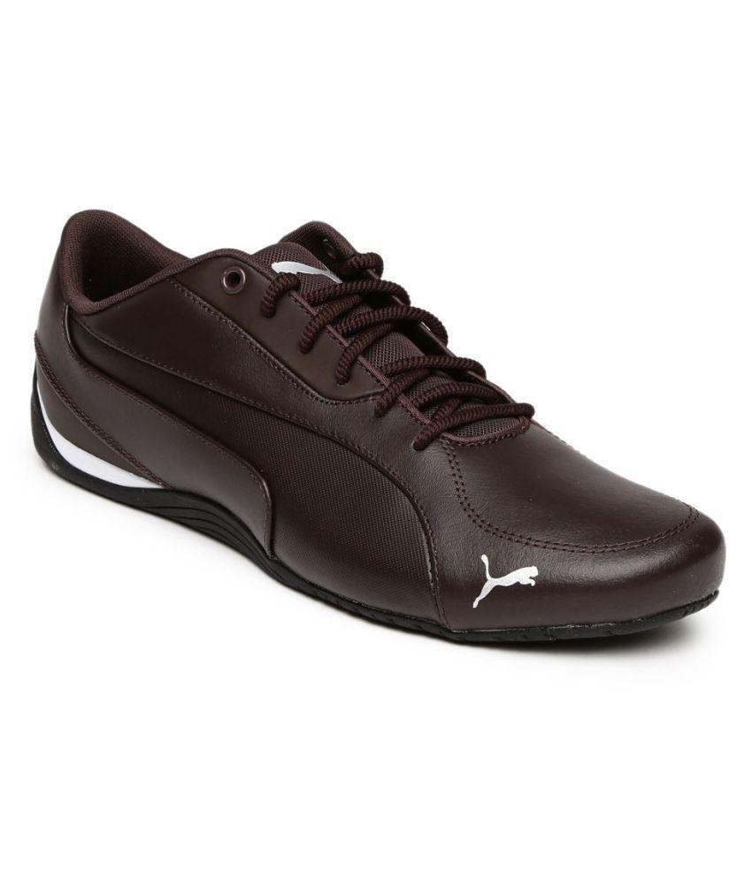 f646b9c0d26f Puma Men Drift Cat 5 Core Sneakers Brown Casual Shoes - Buy Puma Men Drift  Cat 5 Core Sneakers Brown Casual Shoes Online at Best Prices in India on  Snapdeal