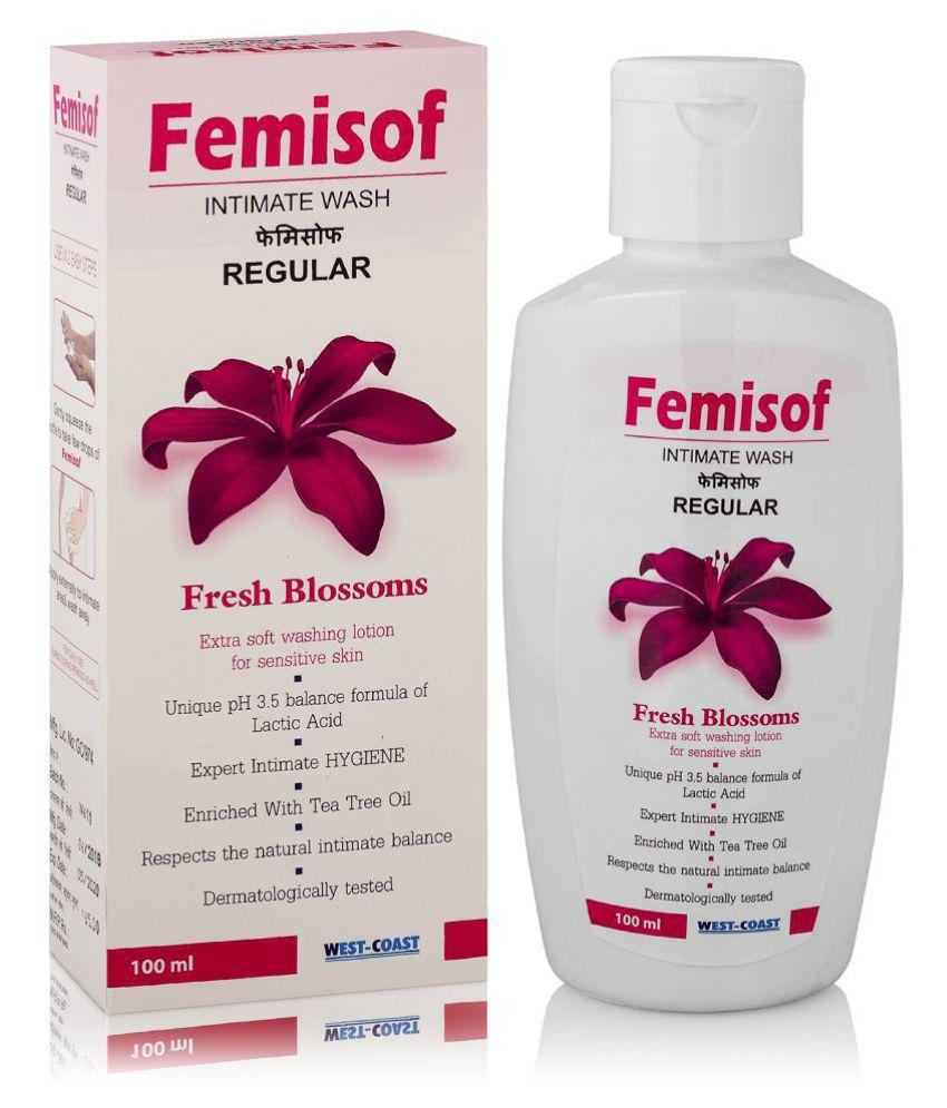 Femisof Intimate Hygiene Wash With Sea Buckthorn, Tea Tree Oil & Aloevera 100ml