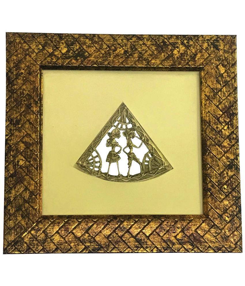 Gallery99 Warli Canvas Painting With Frame