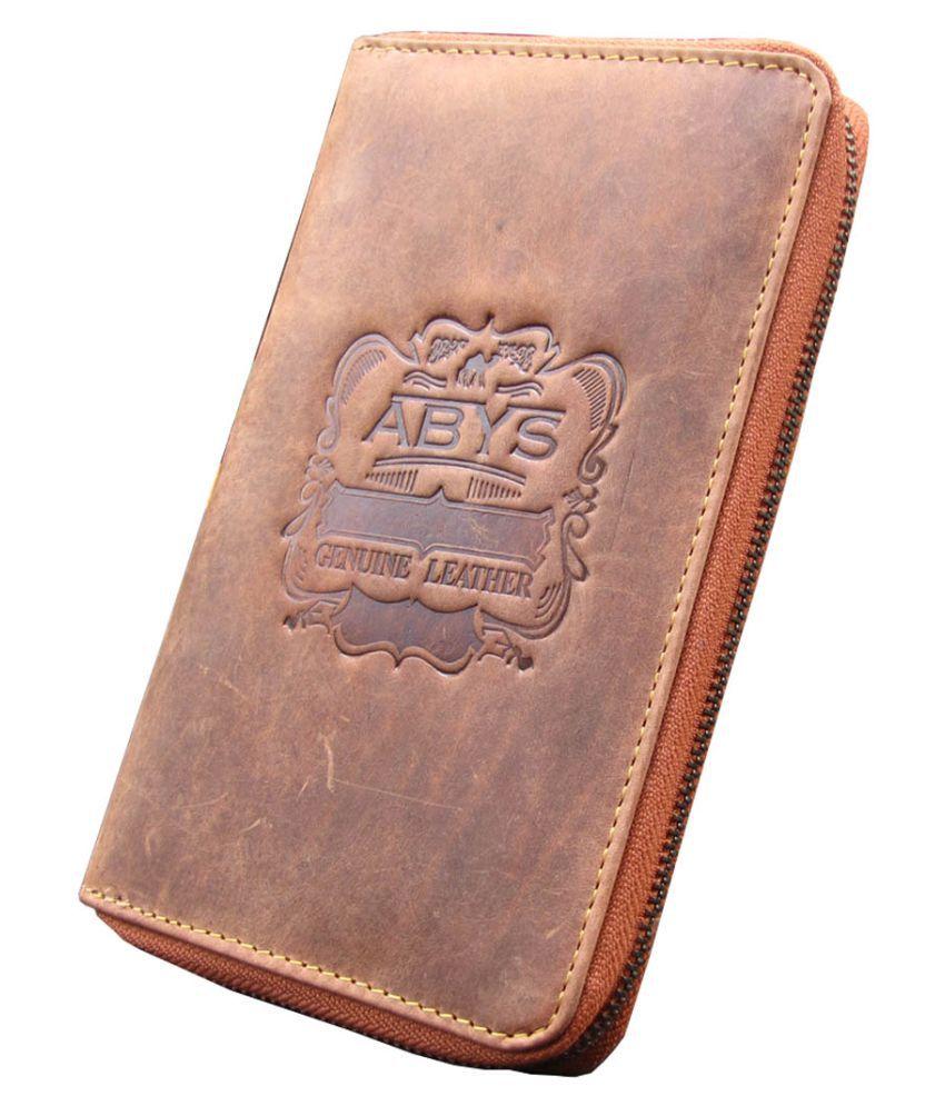 ABYS Tan Wallet