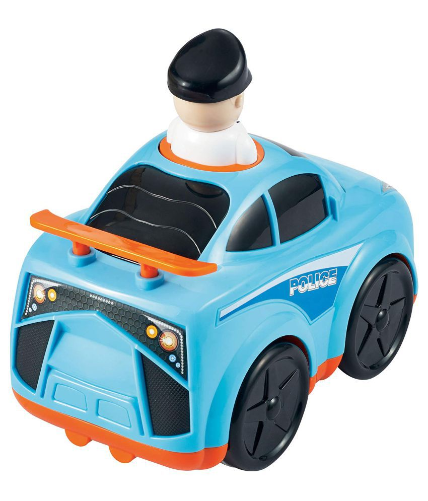 Baybee Infunbebe Unbreakable Police Car Toy for Baby Development,  Educational Toys for Toddlers