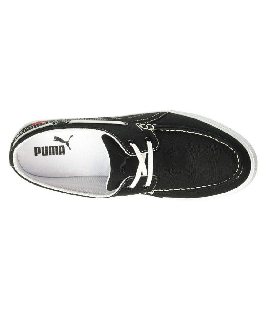 64a7a6904783 Puma Ferry Idp Boat Black Casual Shoes - Buy Puma Ferry Idp Boat ...