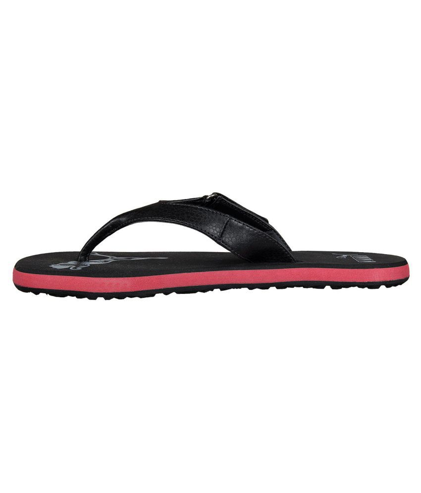 b450475593c Puma Men Breeze 2 NG IDP Black Thong Flip Flop Price in India- Buy ...