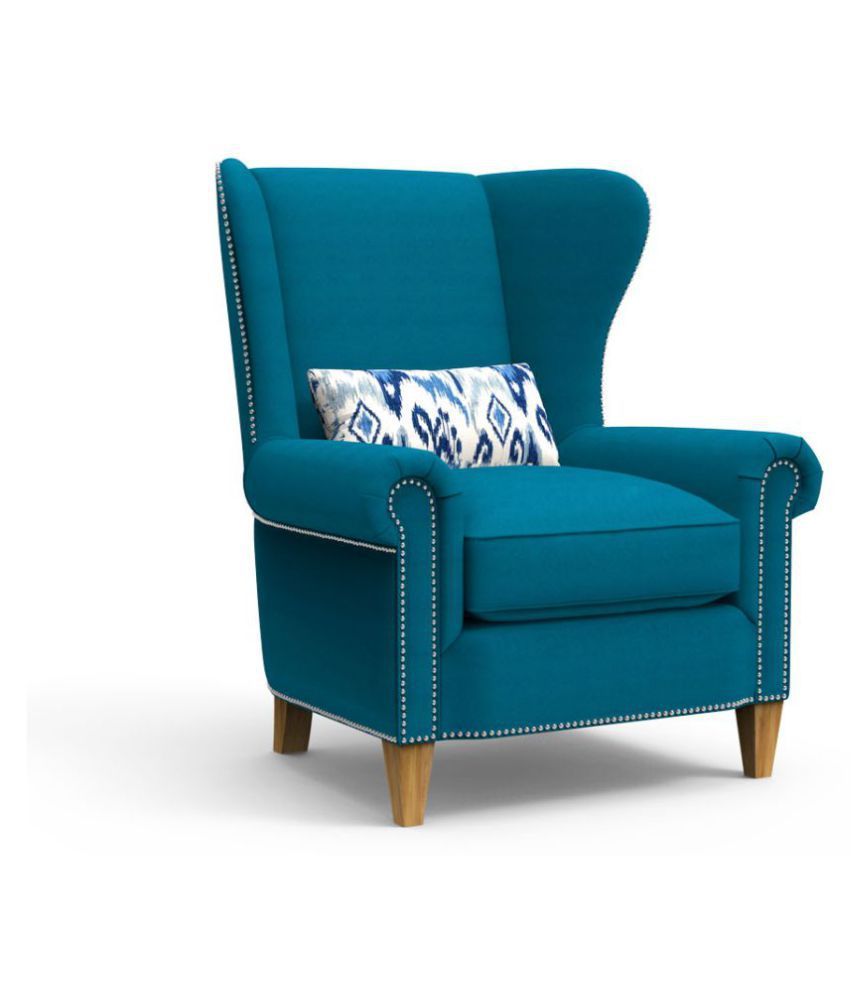 ripple wing chair for living room buy ripple wing chair for living rh snapdeal com