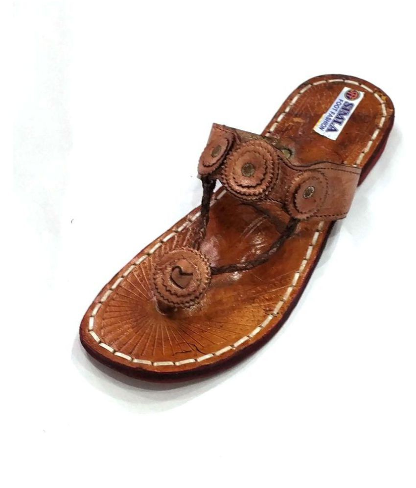 Simla Foot Fashion Brown Ethnic Footwear
