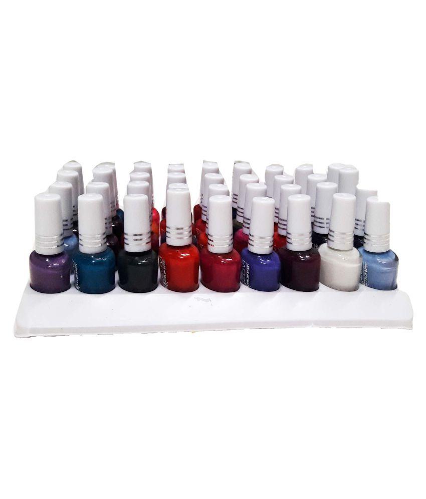 GreenViji Nail Polish Kit 36 Pcs Multicolor Natural 0.3 ml