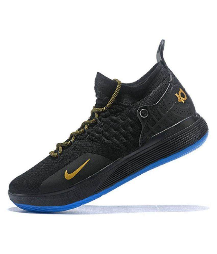 """new style 94a1f 4f71e ... Nike Zoom KD 11 """"Panther"""" LTD 2018 Black Basketball Shoes ..."""