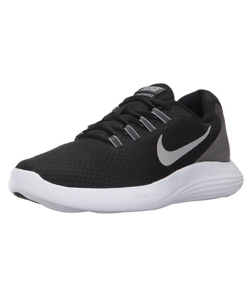 the best attitude 70d09 4a47a Nike Men s Lunarconverge Running Black Running Shoes - Buy Nike Men s  Lunarconverge Running Black Running Shoes Online at Best Prices in India on  Snapdeal