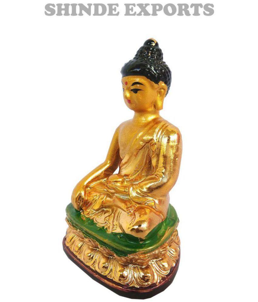 Shinde patil exports Buddha Polyresin Idol