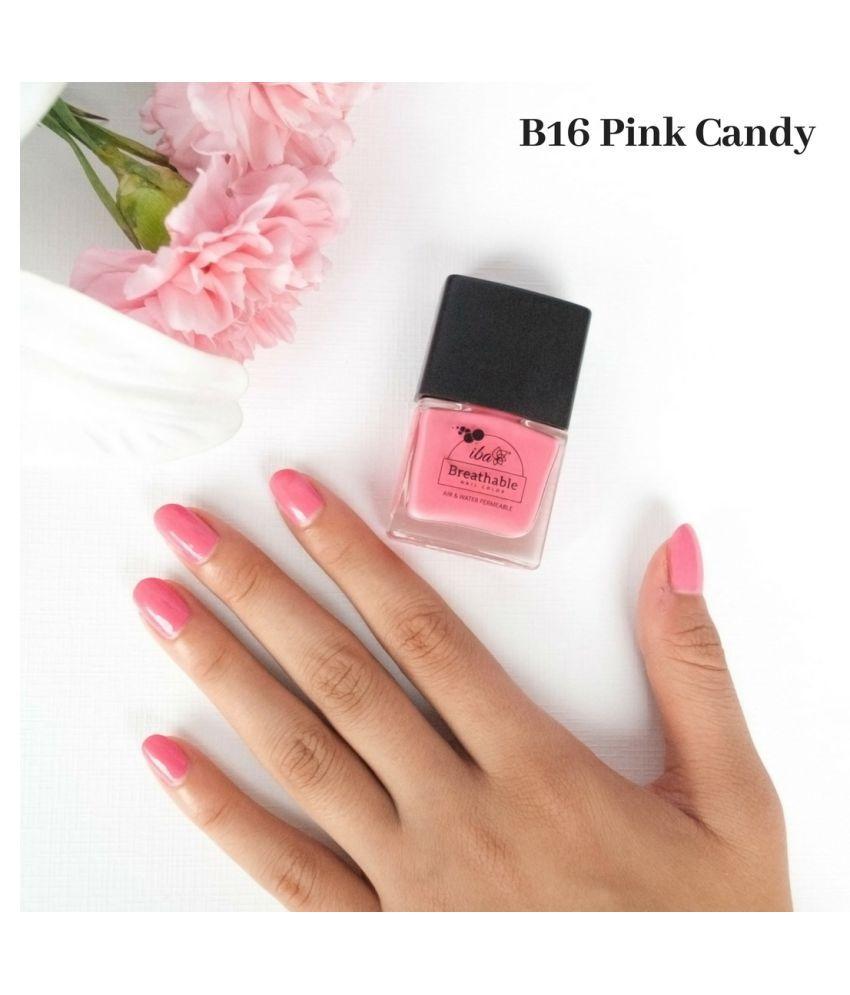 Iba Halal Breathable Nail Color Nail Polish B16 Pink Candy Ml Buy Iba Halal Breathable Nail Color Nail Polish B16 Pink Candy Ml At Best Prices In India Snapdeal