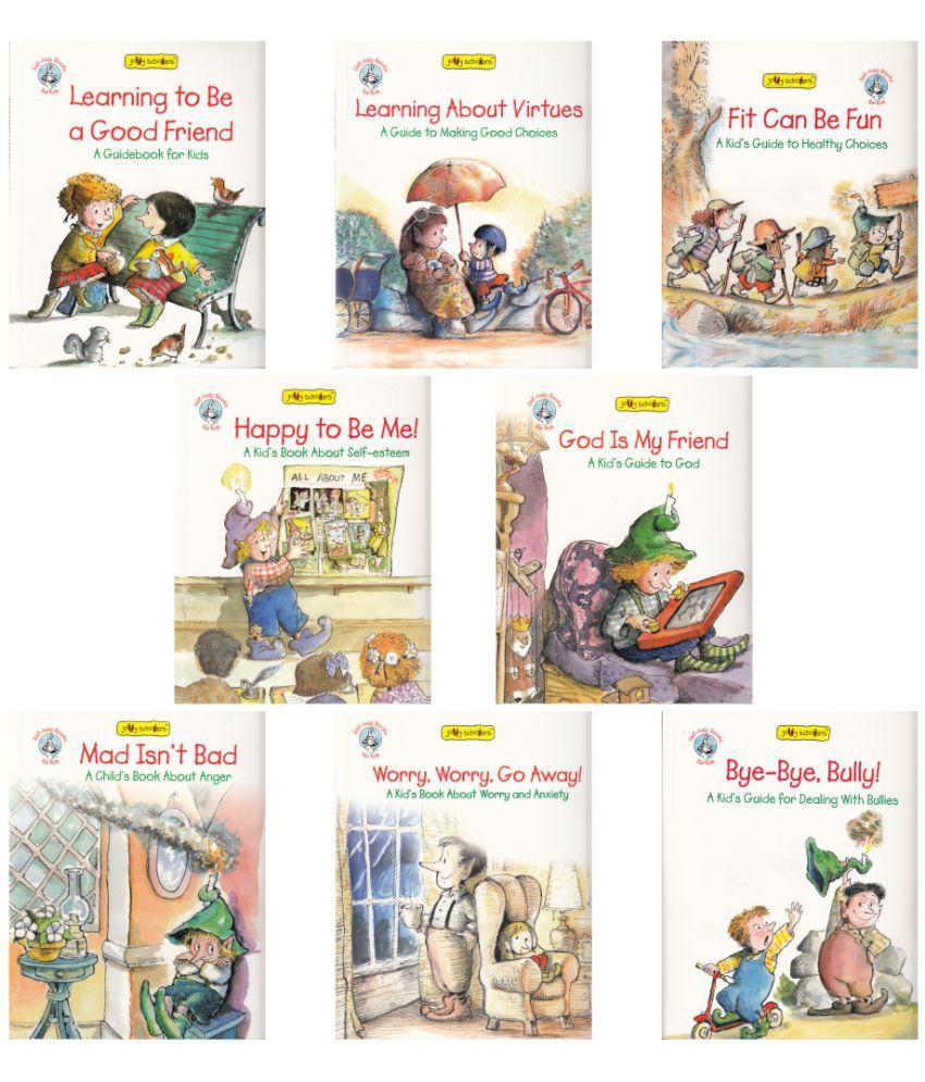 Jolly Scholars Self-Help Book Set (Set Of 8)