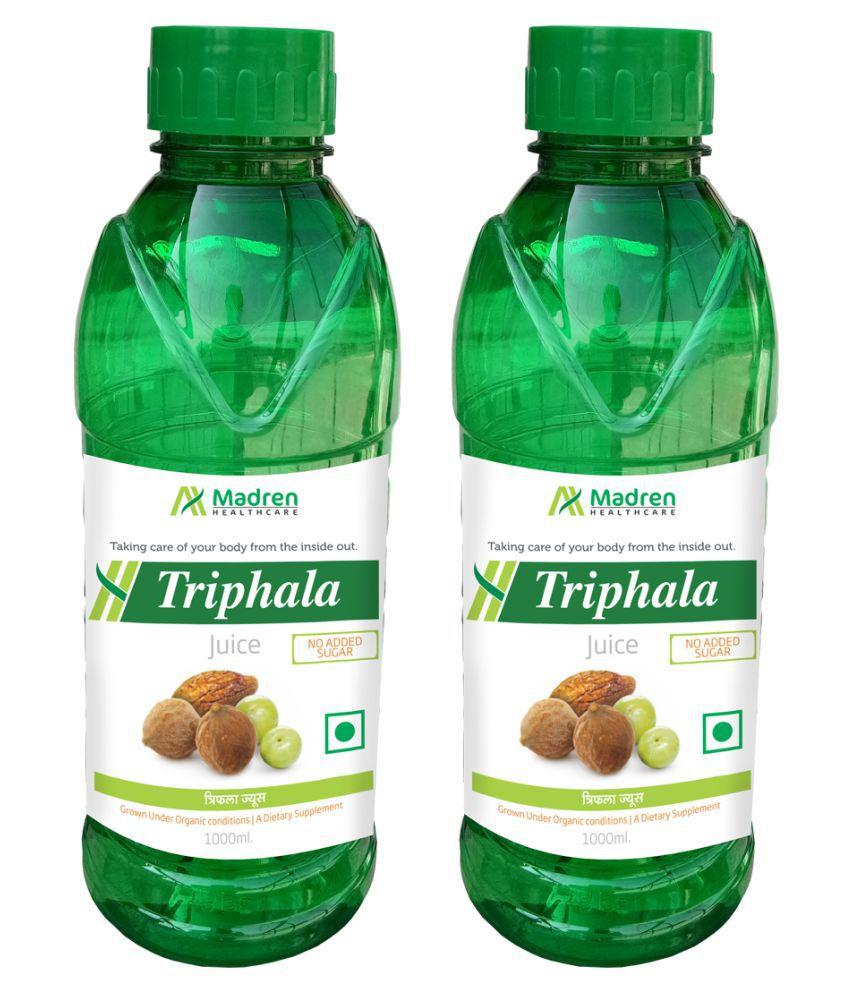 Madren Healthcare Triphala 1 Ltr PACK OF 2 Health Drink 2000 ml