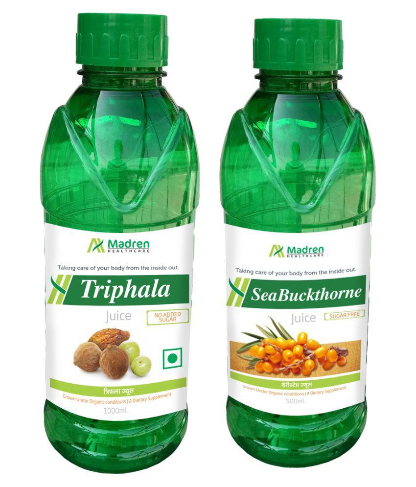 Madren Healthcare Triphala & Sea Buckthorne  Health Drink 1500 ml