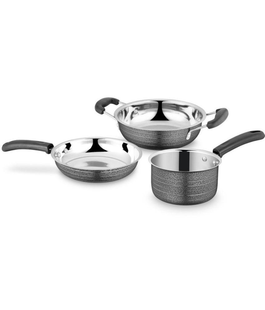IDEALE 3 Piece Cookware Set
