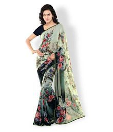 7aed4581ba Georgette Saree: Buy Georgette Saree Online in India at low prices ...