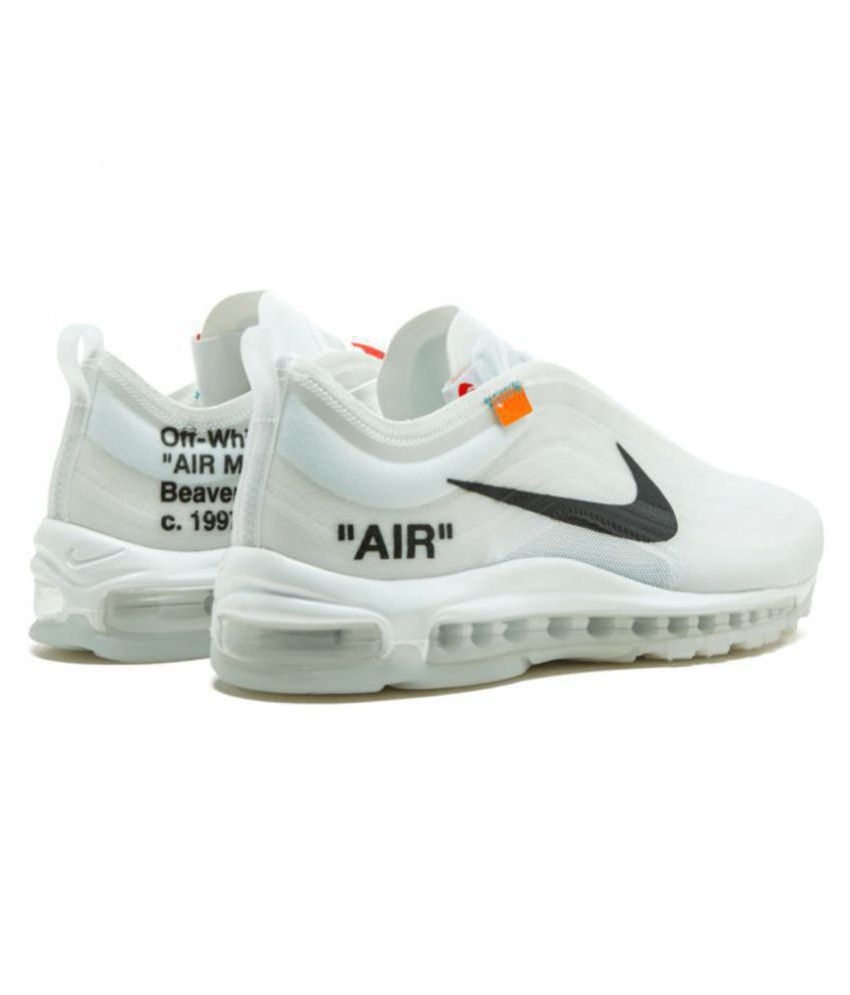 bd56667c38ead1 Nike Air Max 97 Off-White x 2019 LTD White Running Shoes - Buy Nike ...
