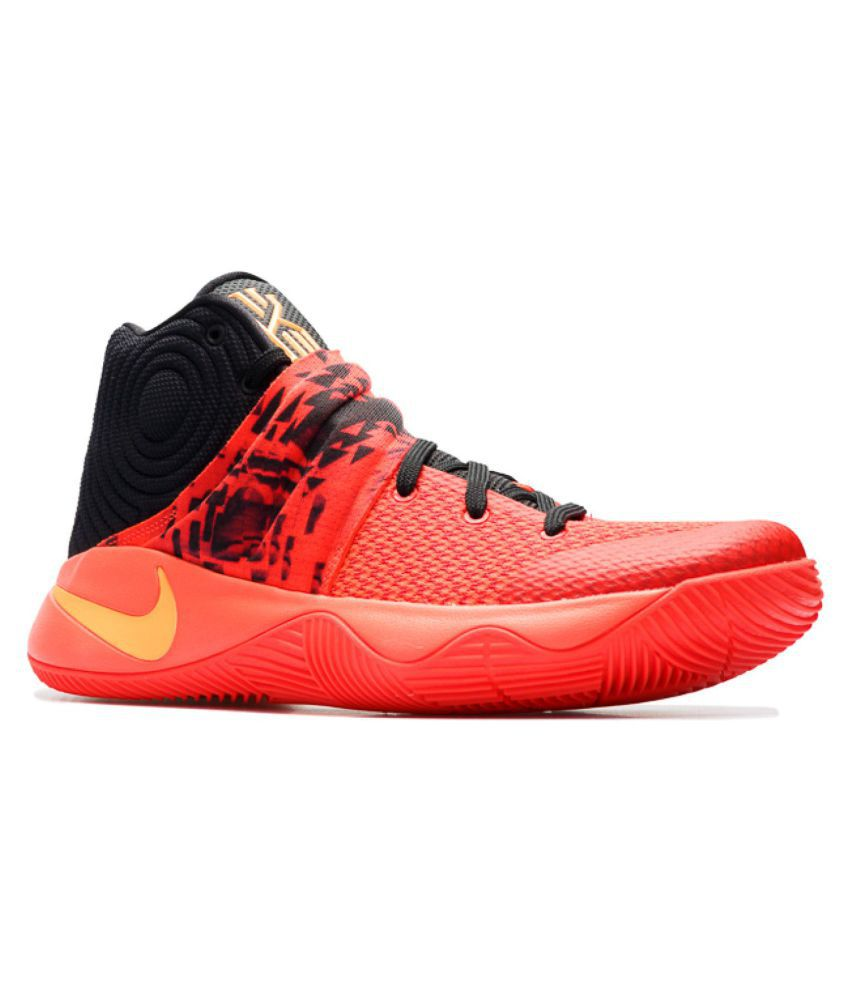 los angeles bbd16 d57e2 Nike Kyrie 2 Red Running Shoes