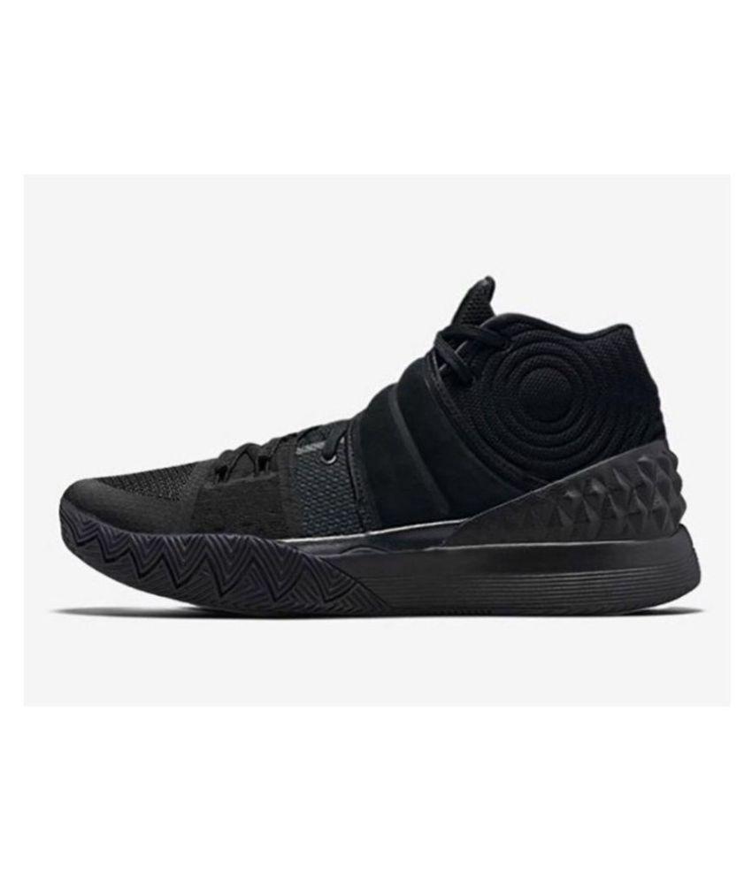 hot sale online d3cfa 8db1d ... Nike Kyrie S1 Hybrid Black Basketball Shoes ...