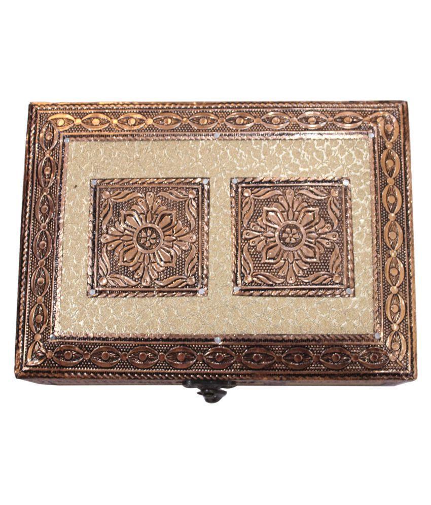 RAJ MULTI PRINT Wooden Decorative Traditional Jewellery Box