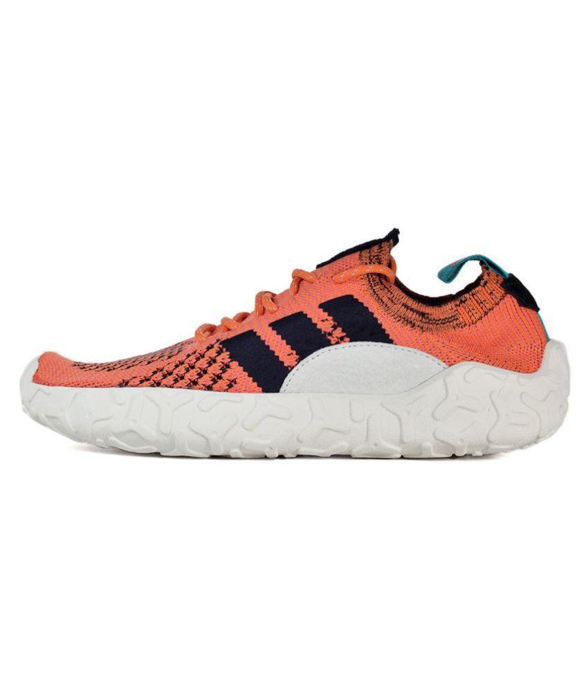 the latest 8edff 18f46 ... Adidas F22 Primeknit 2018 Orange Running Shoes ...