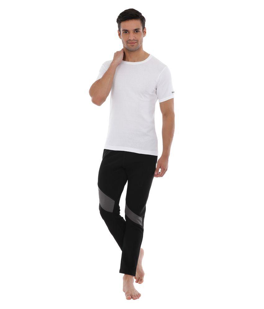 0eab319e0b952a Macroman White Cotton T-Shirt Pack of 4 - Buy Macroman White ...