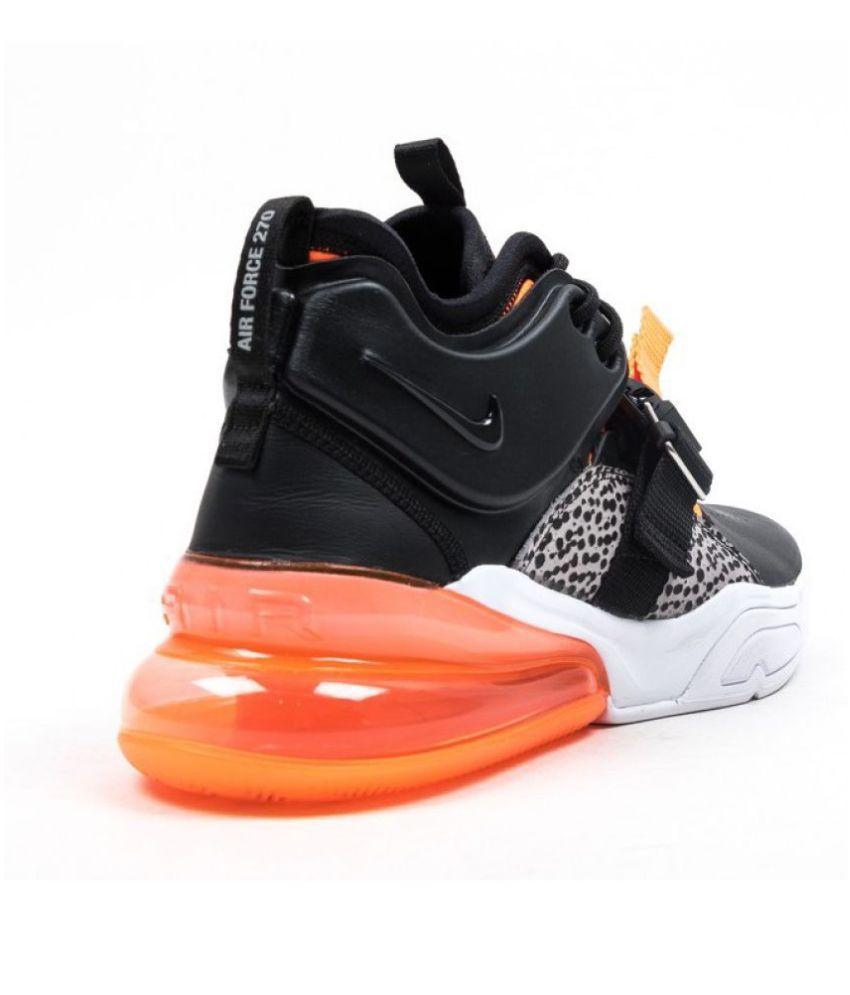 "Nike AIR FORCE 270 ""SAFARI"" Black Running Shoes - Buy Nike AIR FORCE ... a4b88310f"