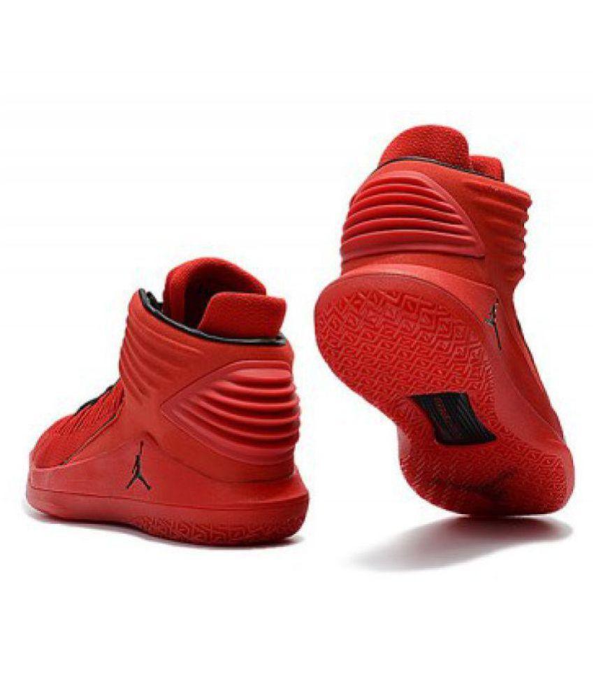 site réputé b96ea 6be17 Nike Air Jordan 32 Red Basketball Shoes
