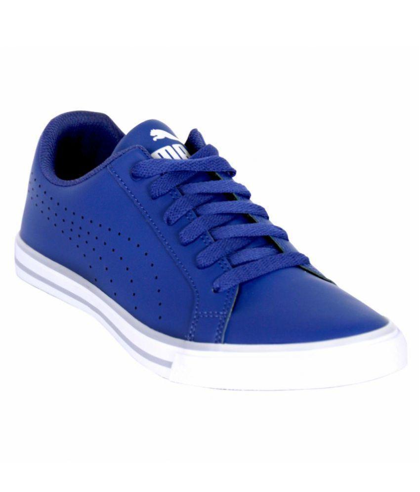 c33269e5939452 Puma Lifestyle Blue Casual Shoes - Buy Puma Lifestyle Blue Casual ...