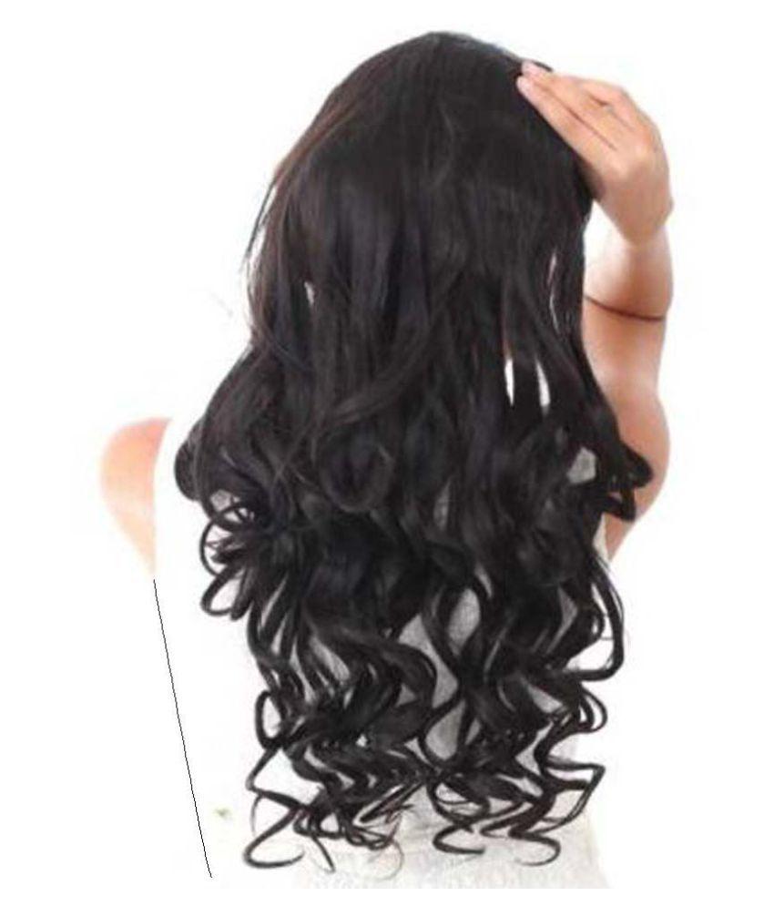 Tahiro Black Casual Hair Extension Buy Online At Low Price In India