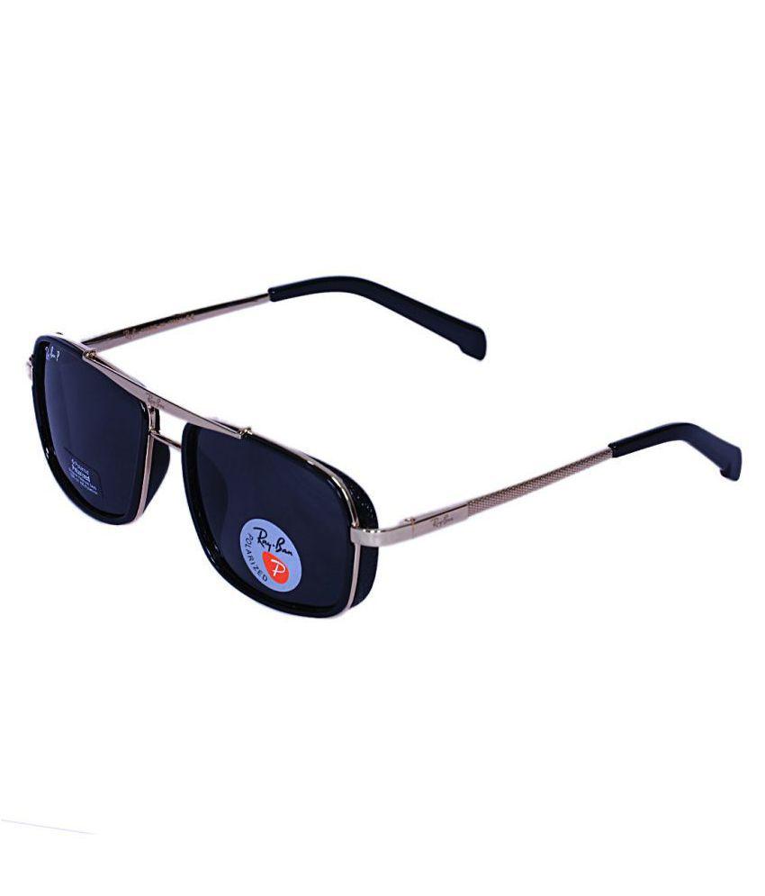 45b86b5666b Trendy Fashion Black Aviator Sunglasses ( 1055 ) - Buy Trendy Fashion Black Aviator  Sunglasses ( 1055 ) Online at Low Price - Snapdeal
