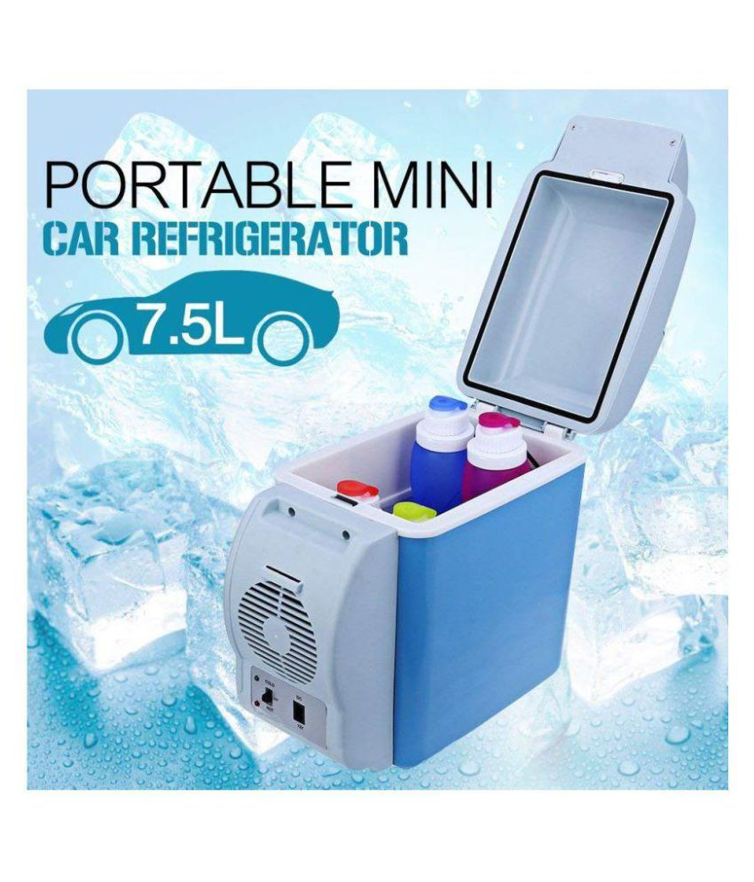 3bef76e54 ... Refrigerator Cooler Warmer Fridge 7  Buy Wemake Refrigerator   Warmer  12V 7.5L Car Refrigerator Cooler Warmer Fridge 7 Online at Low Price in India  on ...