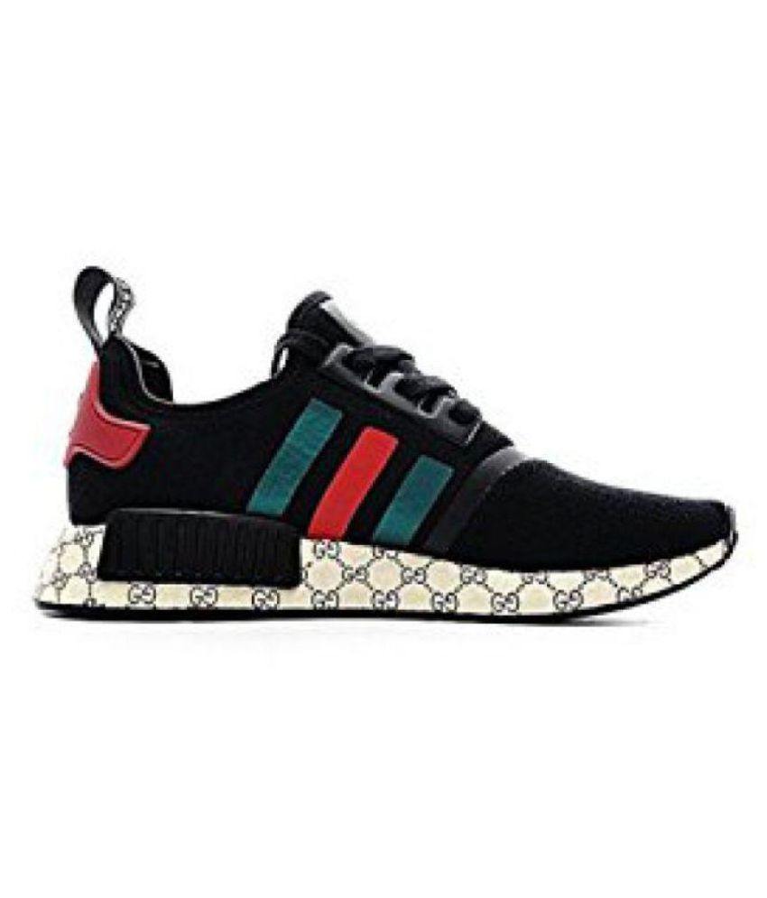 ad01e0f92 Adidas NMD Gucci Black Running Shoes - Buy Adidas NMD Gucci Black ...