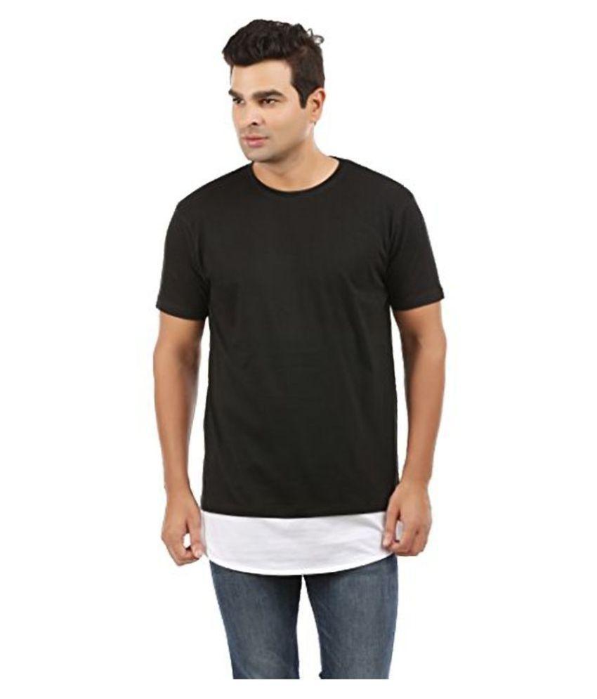 Trends Tower Black Half Sleeve T-Shirt