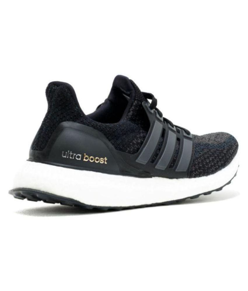 quality design 59755 f2e40 Adidas ADIDAS ULTRABOOST 4.0 Black Running Shoes