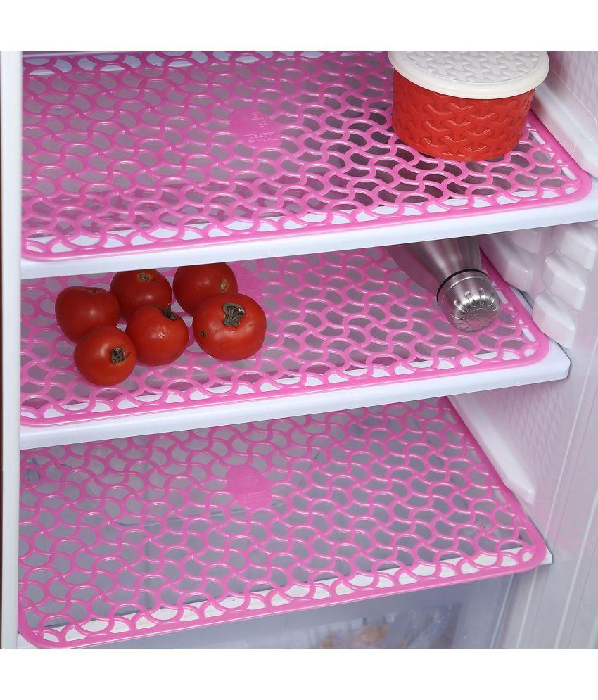 6 Pvc Pink Colour Refrigerator Drawer