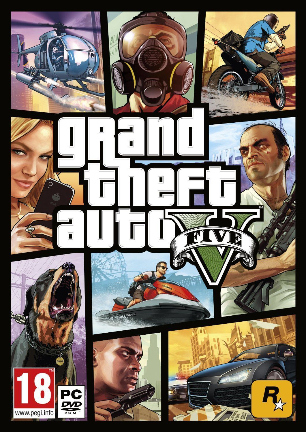 Grand Theft Auto V GTA 5 PC ( Delivery via Email )