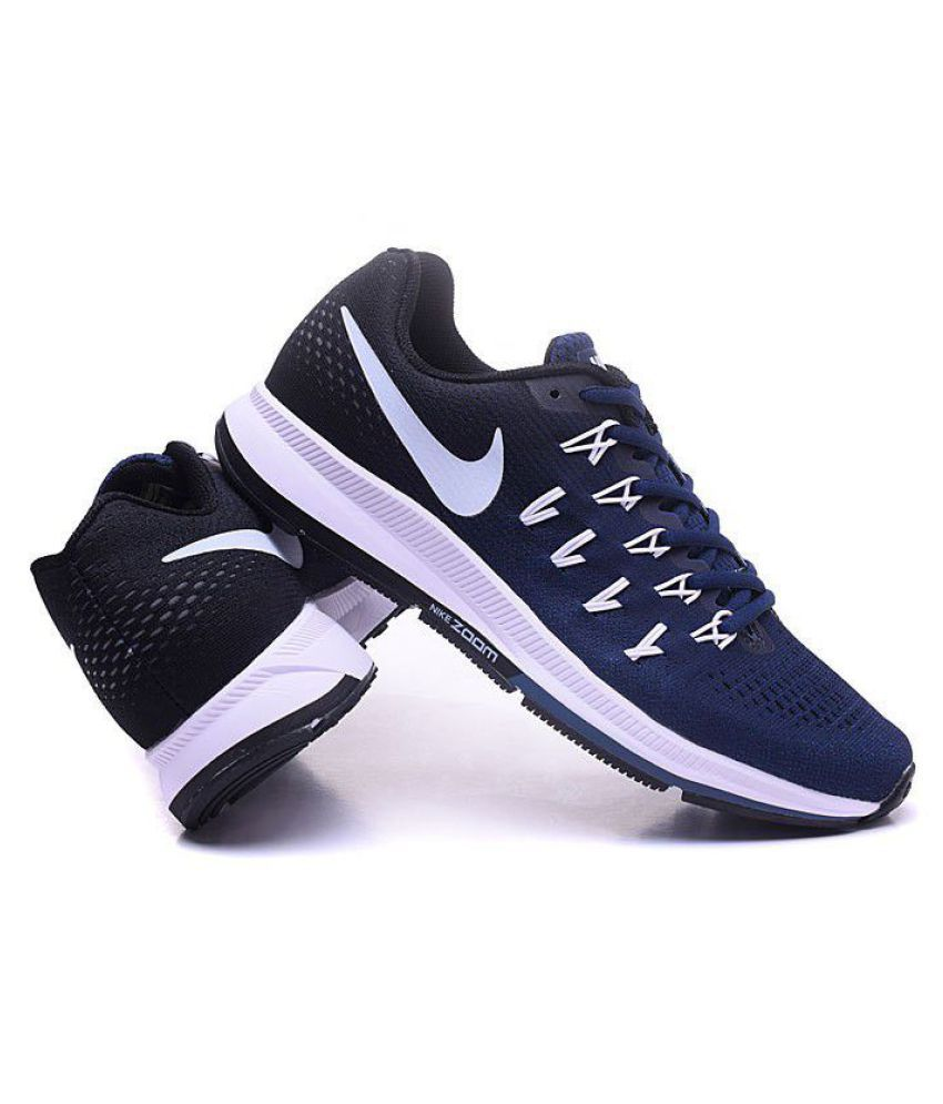 7c46d31bed88 Zoom Air 33 pegasus Navy Running Shoes - Buy Zoom Air 33 pegasus Navy Running  Shoes Online at Best Prices in India on Snapdeal