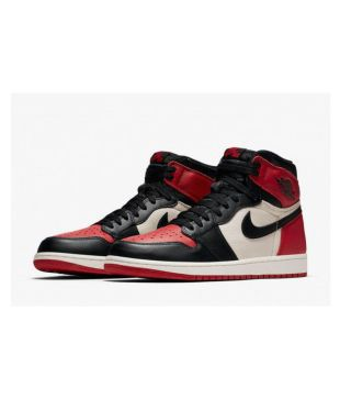 7c8d102a5b15d5 Nike AIR JORDAN RETRO 1 Red Basketball Shoes - Buy Nike AIR JORDAN RETRO 1 Red  Basketball Shoes Online at Best Prices in India on Snapdeal