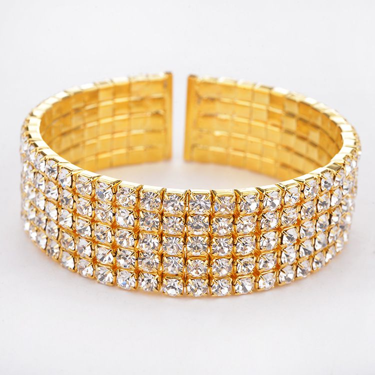 Kamalife Multi-row Diamond Bracelet For Womens