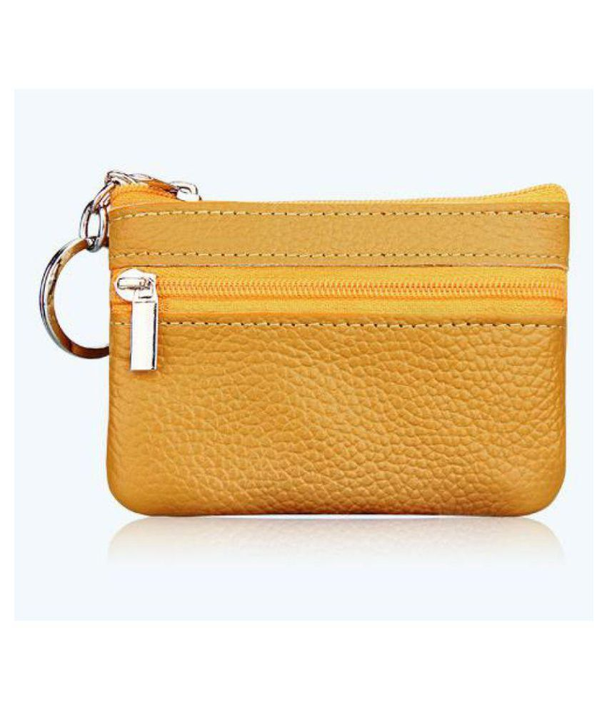 Noble Yellow Wallet