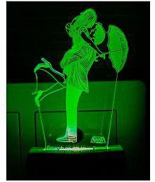 Ajanta Romantic Love Couple code: 2094 i love you Night Lamp Multi - Pack of 1